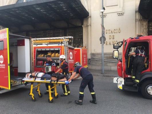 Посольство уточняет, естьли белорусы среди пострадавших при трагедии поезда вБарселоне